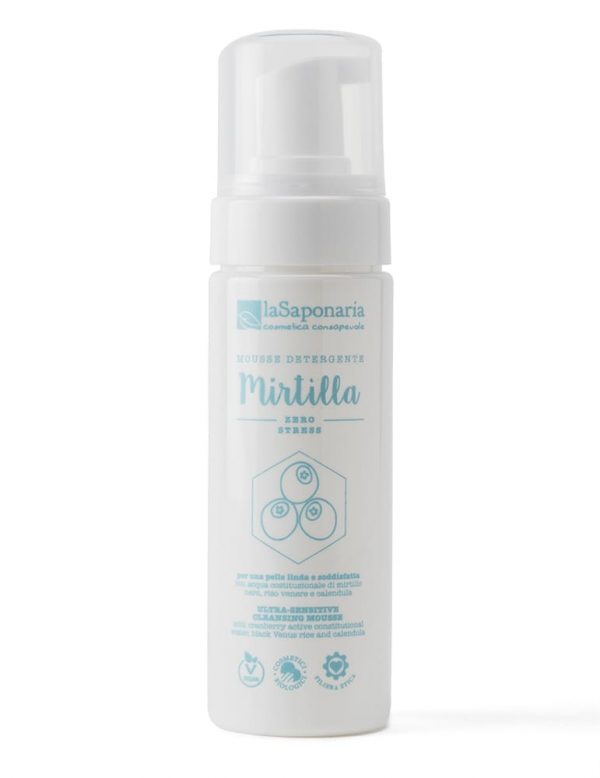 Mousse Detergente Mirtilla